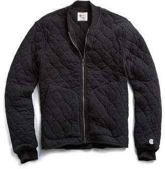 Todd Snyder + Champion Champion Quilted Bomber in Black