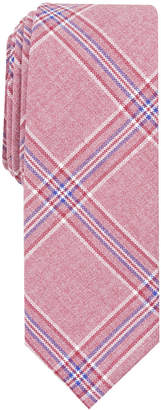 Original Penguin Men's Lindahl Plaid Skinny Tie