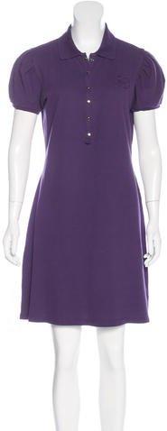Burberry Burberry London Short Sleeve Mini Dress