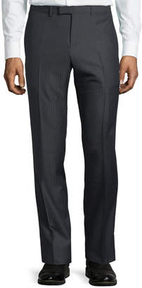 Gucci Monaco Pinstriped Wool Trouser Pants
