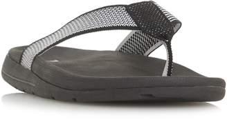 Dune Hopkinss Knit Material Flip Flop Shoes