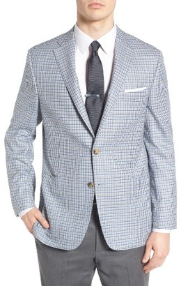Men's Hickey Freeman Classic Fit Check Wool Sport Coat $1,295 thestylecure.com