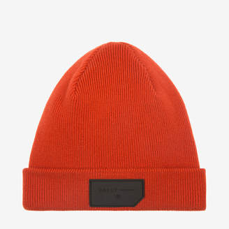 Bally Patch Beanie Hat