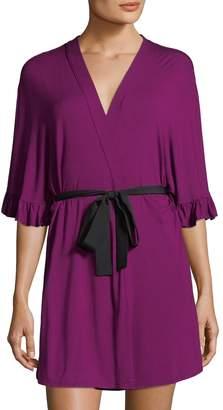Josie Women's Solid V-Neck Wrap