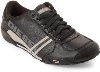 Diesel Black & Grey Solar Sneakers