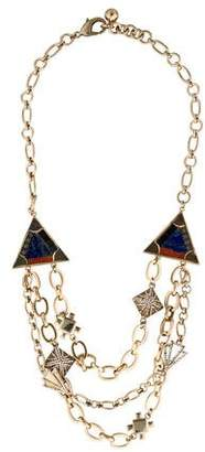 Lulu Frost Mosaic Petra Necklace $225 thestylecure.com