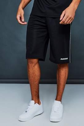 boohoo MAN Active Baseball Shorts