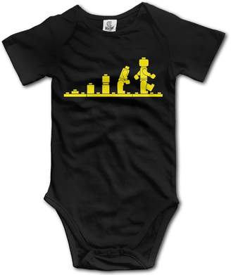 Lego Cupup Mens Evolution Infant Romper Jumpsuit Casual Soft Cotton T-Shirt Newborn Baby Or Child Boy Girl