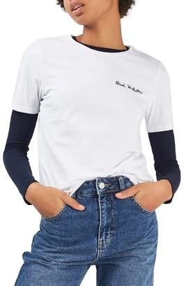 Women's Topshop Bad Habits Tee $28 thestylecure.com