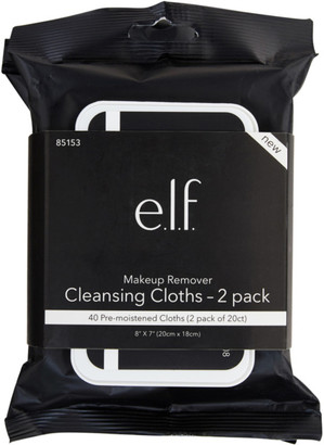E.L.F. Cosmetics Online Only Makeup Remover Cleansing Cloths 2 Pack