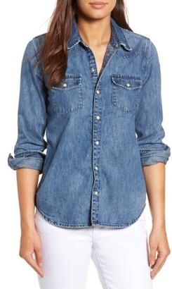 Women's Lucky Brand Classic Western Shirt $79.50 thestylecure.com