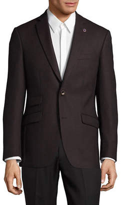 Ted Baker NO ORDINARY JOE Textured Wool Suit Jacket