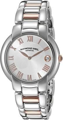 Raymond Weil Women's 'Jasmine' Quartz Stainless Steel Dress Watch (Model: 5235-S5-01658)