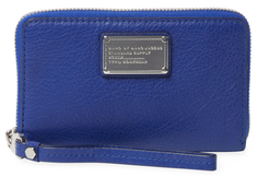 Marc By Marc Jacobs Classic Q Wingman Leather Wristlet