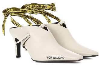 Off-White For Walking leather mules