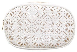 Tory Burch Tory Burch Laser Cut Cosmetic Bag