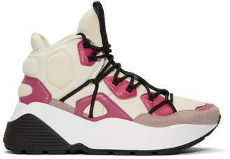 Stella McCartney Pink High-Top Sneakers