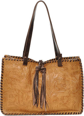 Carla Mancini Leather Tote