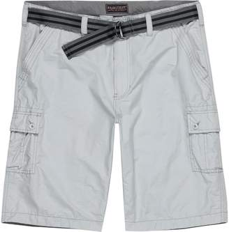 Wearfirst Solid Cargo Short with Stripe Belt - Men's