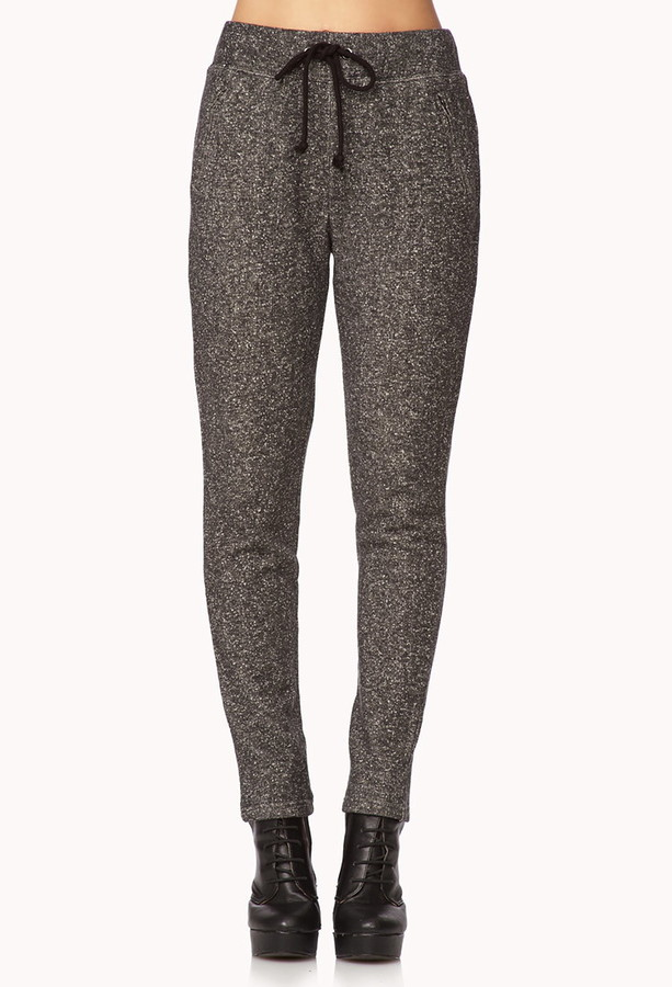Forever 21 Lounge Ready Heathered Sweatpants