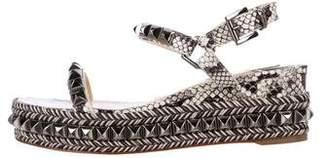 Christian Louboutin Cataclou 60 Studded Sandals