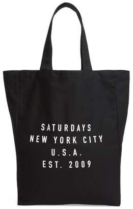 Saturdays NYC Established USA Tote Bag
