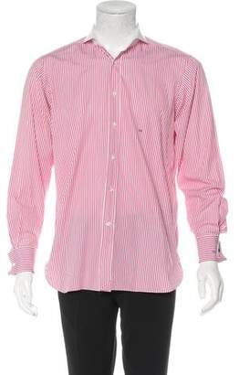 Ralph Lauren Purple Label Striped French Cuff Shirt