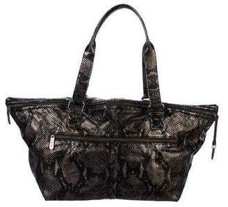 Botkier Metallic Embossed Leather Tote