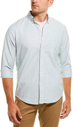 J.Crew Oxford Stretch University Stripe Woven Shirt