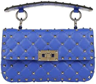 Valentino GARAVANI Mini Bag Rockstud Spike Small Bag In Real Leather With Micro Studs And Sliding Shoulder Strap