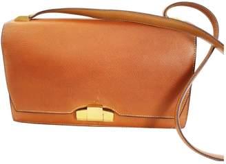 Hermes Vintage Camel Leather Handbag