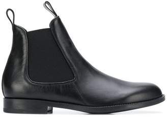 Ermenegildo Zegna almond toe Chelsea boots