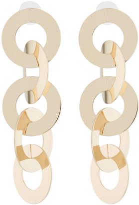 Stella & Ruby Layered Circle Dangle Earrings