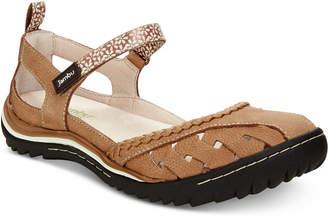 Jambu Apple Blossom Mary Jane Flats Women's Shoes
