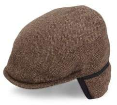 Saks Fifth Avenue Classic Ivy Wool Cap