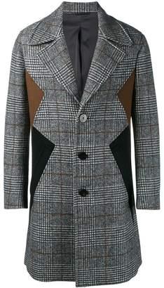 Neil Barrett panelled coat