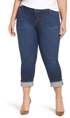 e8020e50fd471 Plus Size Crop Boyfriend Jean - ShopStyle