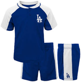 Outerstuff Baby Los Angeles Dodgers Play Strong Short Set