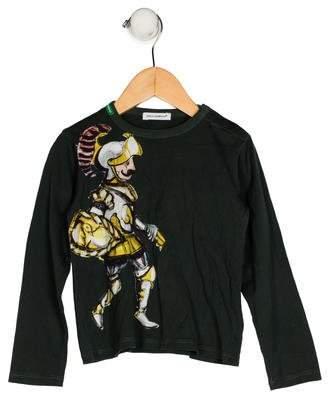 Dolce & Gabbana Boys' Graphic Print Shirt