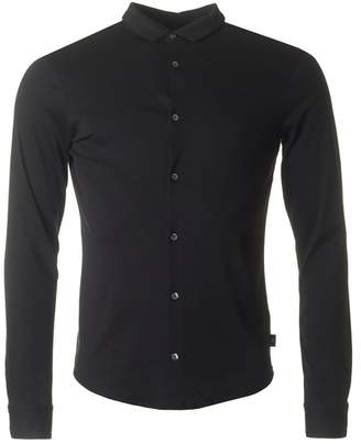 Armani Jeans Slim Fit Button Through Shirt