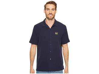 Tommy Bahama California Golden Bears Collegiate Series Catalina Twill Shirt Men's Short Sleeve Button Up
