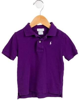 Ralph Lauren Boys' Short Sleeve Polo Shirt