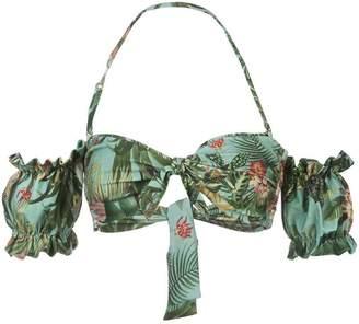 Patbo Paradise off-shoulder bikini top