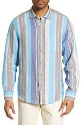 Tommy Bahama Chandler Bay Stripe Linen Shirt