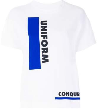 Sacai Lawrence Weiner Uniform T-shirt