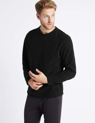 Marks and Spencer Crew Neck Fleece Top with Stormwear
