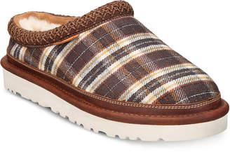 UGG Men Tasman Plaid Slip-Ons Men Shoes