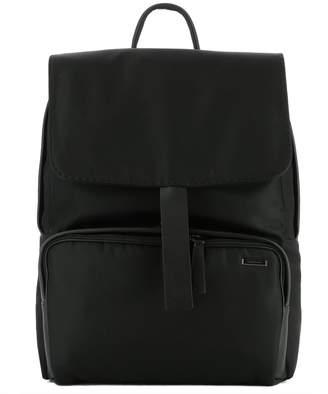 Zanellato Black Fabric Backpack