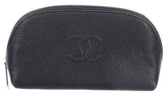 Chanel Caviar Timeless Cosmetic Pouch