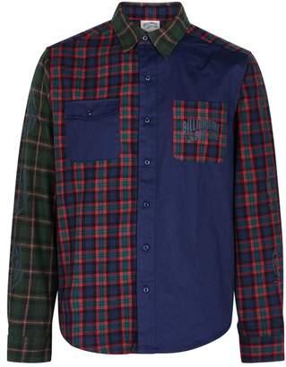 Billionaire Boys Club Cut & Sew Tartan Twill Shirt